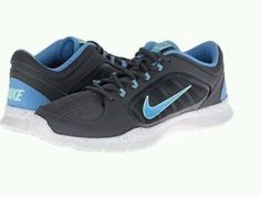 NIKE NEW  WOMEN'S SHOES RUNNING TRAINING SNEAKERS ATHLETIC GRAY BLUE  #Nike…