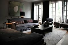 A Moody, Belgian-Inspired West Village Townhouse - Remodelista