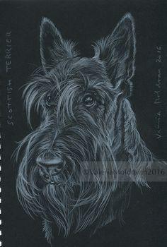 Valeria's Artwork : Photo Cool Pets, Cute Dogs, Schnauzer Art, Nordic Tattoo, Dog Rules, West Highland Terrier, Dog Art, Animal Drawings, Pet Portraits
