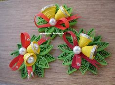 70 fantastic Christmas constructions and p - Quilling Ideas Ideas Quilling, Paper Quilling Tutorial, Origami And Quilling, Quilled Paper Art, Paper Quilling Designs, Quilling Jewelry, Quilling Paper Craft, Quilling 3d, Quilling Patterns