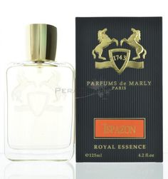 Parfums De Marly Ispazon by Parfums De Marly for MenEau de Parfum 4.2 oz 125 ml spray  Parfums De Marly Ispazon by Parfums De Marly for Men . Fragrance notes are lemon, orange, bay leaves, lime and thyme. Heart: lily of the valley and cedar. Base: amber, vanilla and musk.  Buy @ www.peraroma.com