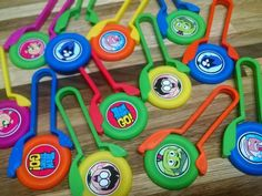 12 TEEN TITANS GO Disk SHooters~ birthday party favor treat, award, loot bag in Home & Garden, Greeting Cards & Party Supply, Party Supplies Bubble Birthday Parties, Fourth Birthday, Birthday Party Favors, Boy Birthday, Teen Titans Go Toys, Superhero Treats, Party Themes, Party Ideas, Party Supplies