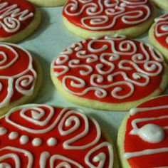 Must DO! With my red & white Christmas.