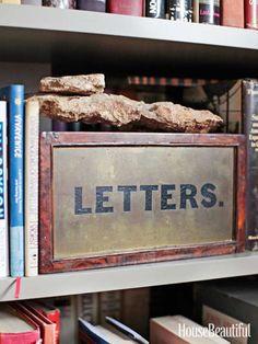 Antique keepsake box