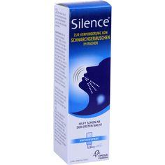 SILENCE Rachenspray:   Packungsinhalt: 50 ml Spray PZN: 09220795 Hersteller: Omega Pharma Deutschland GmbH Preis: 14,38 EUR inkl. 19 %…