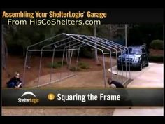 Portable Garage Assembly Instructions. The Easiest And Cheapest Garage On  Theu2026