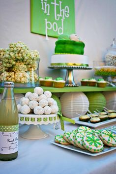 Food Table for baby shower