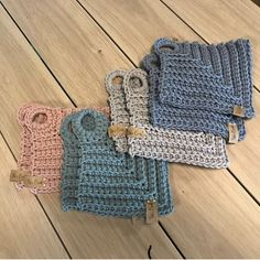 Easy Crochet Patterns, Crochet Stitches, Knitting Patterns, Crochet Clothes, Crochet Hats, Crochet Potholders, Crochet Home Decor, Arm Warmers, Needlework