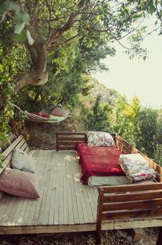 beautiful deck.