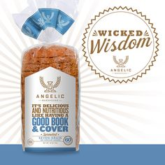 Fact or Fiction: Angelic low-sodium bread is a great addition to a heart-healthy diet?  Answer: Fact! Coming in with only half the amount (65 mg)  of sodium as our seven-grain bread (130mg), which is already less than half of what white bread packs in (300mg), our low-sodium bread won't do a number on your heart, but will leave your tastebuds pumped up!