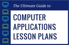 Are you stuck in a rut when it comes to computer applications lesson plans? Read this guide to become a stellar computer applications teacher! Teaching Computer Skills, Computer Lab Lessons, Computer Literacy, Computer Teacher, Teaching Computers, School Computers, Computer Class, Teaching Technology, Educational Technology