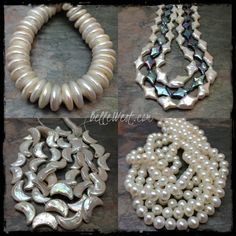 ❥ New Pearls are IN the House!~ www.BelleWestGems.Etsy.com