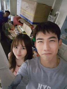 "Kim SoHyun & TaecYeon in ""Let's fight ghost"""