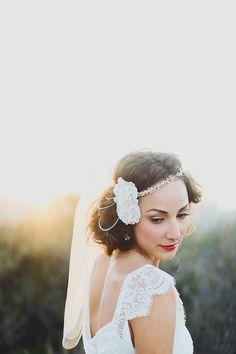 Реальные свадьбы: «Великий Gatsby'-Вдохновленный Бракосочетание (ФОТО)