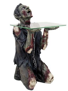 """""""Zombie"""" Table by Pacific Trading #InkedShop #zombie #table #decor #Homegoods"""