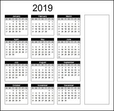 printable calendar 2019 word calendar2019 printablecalendar2019
