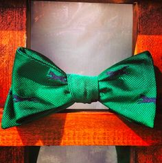 Dog Print Bow Tie. www.Summerties.com