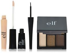 e.l.f. All About Eyes Eye Makeup, Sheer/Jet Black/Necessary Nudes, 0.52 Ounce >>> Continue to the product at the image link.