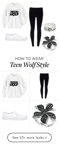 """""""Untitled #22"""" by veronica9076 on Polyvore featuring Vans and Effy Jewelry"""