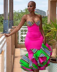 Best African Dresses, Latest African Fashion Dresses, African Print Fashion, African Attire, Venda Traditional Attire, Traditional Fashion, Traditional Outfits, Traditional Wedding, South African Traditional Dresses