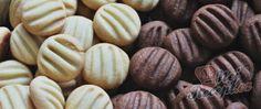 Recept Pudinkové sušenky s chutí vanilky a kakaa - nepotřebujete žádné formičky a vánoční cukroví může vypadat skvěle Almond, Fit, Shape, Almond Joy, Almonds