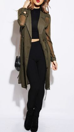 christmas gift, gift, womens fashion, 2013, military style cardigan, jacket, sweater, coat, wrap, chiffon, green , gift for her, , must have for 2014, dress, multi wear!
