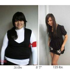 inspiring body transformation