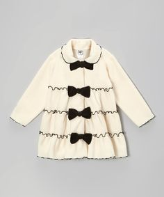 Tiered Bow Jacket - Infant, Toddler & Girls