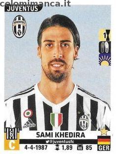 Calciatori 2015-2016: Fronte Figurina n. 314 Sami Khedira