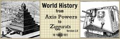 The Planted Trees: World History from Axis Powers to Ziggurats 1.0: Our Curriculum Lineup for First Grade using a homemade tour of world history with picture books