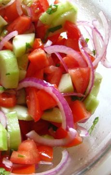 Anytime Tomato Salad « Marlene Koch Marlene Koch/Awesome and easy. Did not change a thing and I will make again.