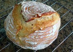 17 Ago 2016 Imagina uma receita de pão, que você só precisa misturar rapidamente farinha, água, sal e fermento (ou levain), e dei...