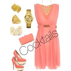 What do you wear for #cocktail hour?