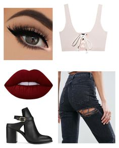 """Untitled #607"" by valerialoman on Polyvore featuring Puma, ASOS, Miss Selfridge and Lime Crime"
