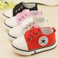 Nyaman anak-anak fashion anak sneakers shoes bawah lembut bayi balita shoes ukuran 21-25 anak laki-laki perempuan sneakers sepatu kanvas boy gadis