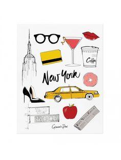 GARANCE DORÉ  New York Print