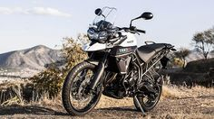 Triumph presented at EICMA the Tiger 800 XC. The on-off three cylinder bike features a 21 inch front wheel and it is available in two versions. The Tiger 800 XC