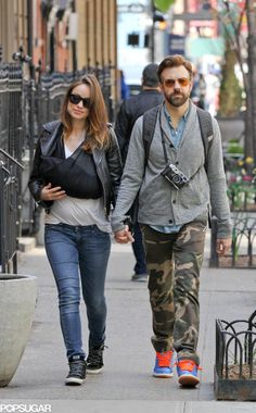 Olivia Wilde and Jason Sudeikis Step Out With Baby Otis