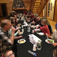 Over 40 joined us for our January communion dinner. Such a fun tradition for  Sola Church.