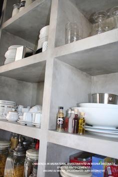 WWW.STUDIOADP21.IT Arti Decorative. CREDENZA IN MURATURA IN RESINA. FINTO CEMENTO. (BELIEF IN MASONRY IN resin decoration. IMITATION OF CEMENT)