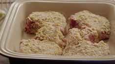 tender butter cracker crusted pork chops