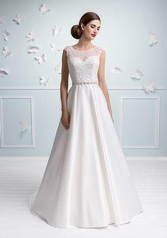 077ce9c0b727 Mode de Pol 3147. Anne · Wedding inspiration ✨ · Delia- abiti sposa online  italiani modello a-line