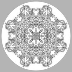 Coloring Book For Adults Stock Illustrations, Cliparts And Royalty ...