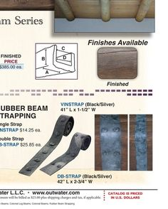 straps for doors  Outwater Plastics - Master 2012 Catalog - page 780