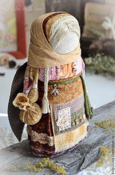 Купить кукла-оберег Ангел цветочной пыльцы. Резерв. - оранжевый, народная традиция