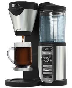 Ninja CFO82 Coffee Bar Coffee Maker    santa is getting mr this for Christmas. I am so exited. Will leave a review after i have used it for awhile. Santa was nice enough to deliver my present early and he delivered it on my birthday. what a guy.{thanking my sisters}