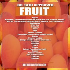 DR. SEBI NUTRITIONAL GUIDE | A HEALTHY CRUSH | JUICE HUGGER