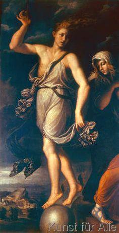 Girolamo da Carpi - Die Gelegenheit und die Reue