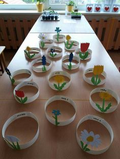 Flowers Art Craft Preschool New Ideas Spring Crafts For Kids, Summer Crafts, Projects For Kids, Art For Kids, Easter Crafts, Preschool Activities, Kids Crafts, Diy And Crafts, Arts And Crafts