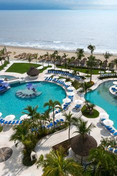 Around 25 minutes from Puerto Vallarta, the Hard Rock Hotel is a stylish all-inclusive beachfront property in Nuevo Vallarta with personalized service and rock star amenities. #Jetsetter